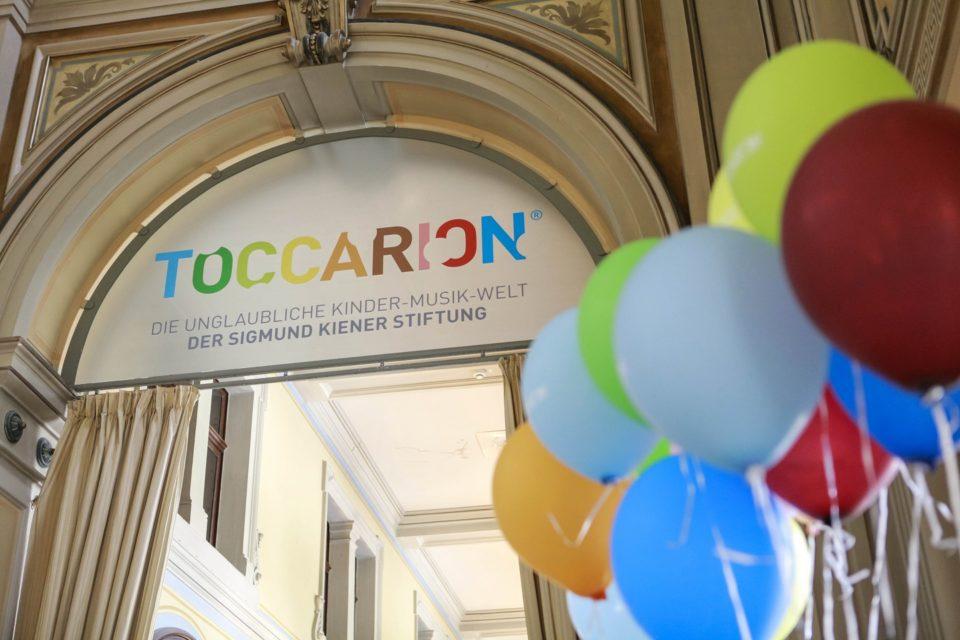 Der Eingang zum Toccarion.