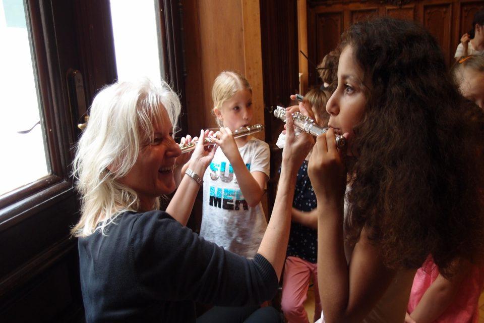 Musikerinnen der BB-Philharmonie im Toccarion