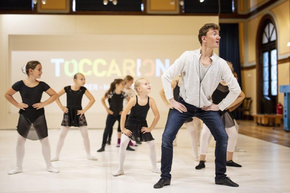 Tanzen ist Spitze Workshop im Toccarion
