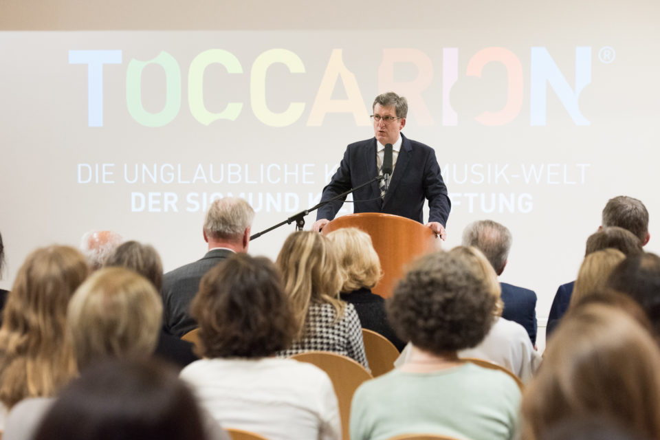 Prof. Dr. Seedorf im Toccarion