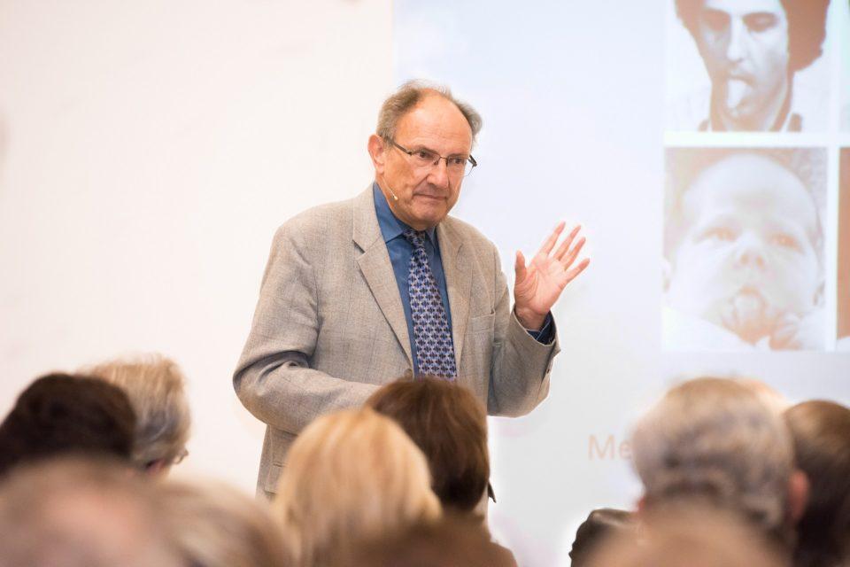 Prof. Dr. Gruhn im Toccarion