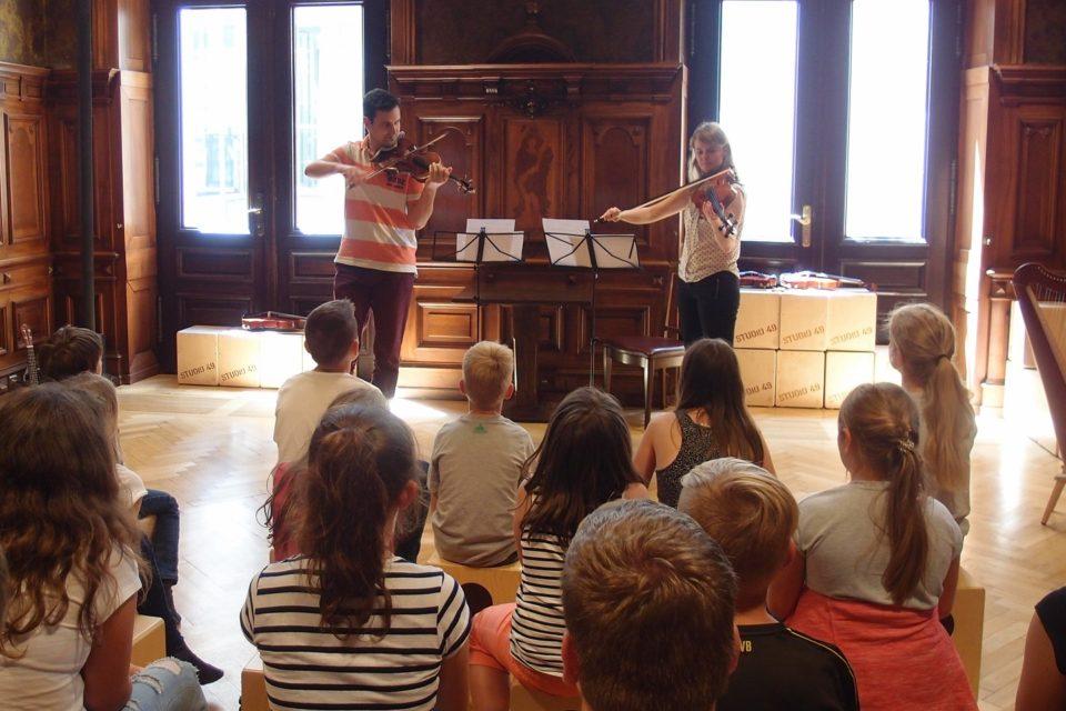 Musiker zu Gast im Toccarion
